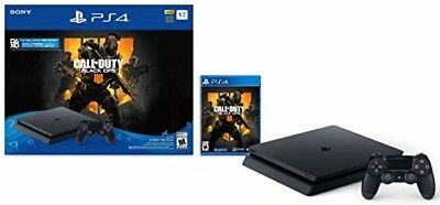 Original Sony PlayStation 4 Slim 1TB Console - Call of Duty: Black Ops 4 Bundle