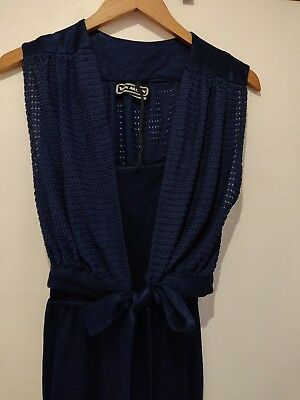 Vintage 80s Jumpsuit Size 8 Great For Christmas Parties