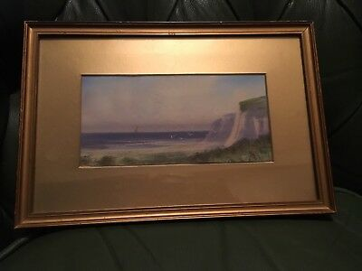 Antique 19th Century Painting Of A Seascape