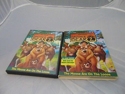 Walt Disney Brother Bear 2 (DVD, 2006) with slip cover case