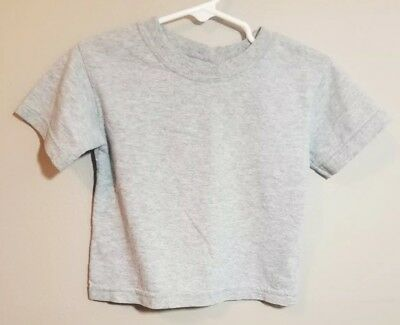 Garanimals Boys Gray Short Sleeve T-Shirt Size 18 Months