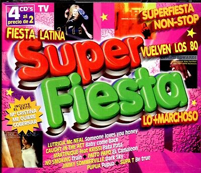 Super Fiesta - 4 CDs 1998