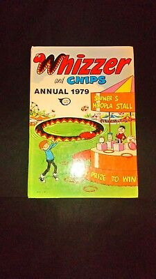 Whizzer And Chips Annual 1979 Vintage Comic Hardback