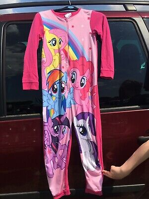 My Little Pony Fleece Pyjamas Dressing Gown All In One - Age 9-10 Years