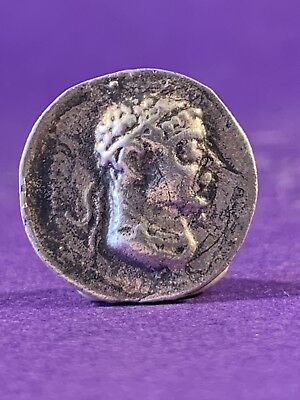 Unresearched Roman Silver Denarius Coin