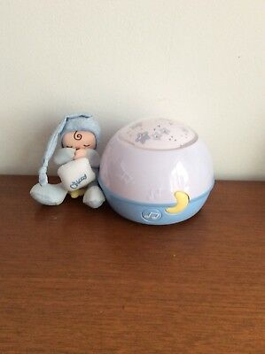 Chicco Goodnight Stars Baby Light Projector With Music - Good Working Order