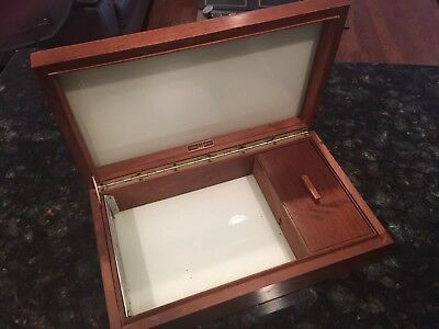 Dunhill Cigar Walnut Wood Humidor