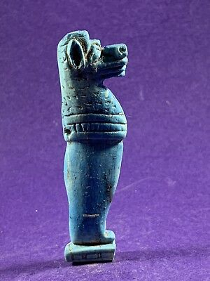 Very Beautiful Circa 715-332Bc Ancient Egyptian Babi Monkey/baboon God Amulet.