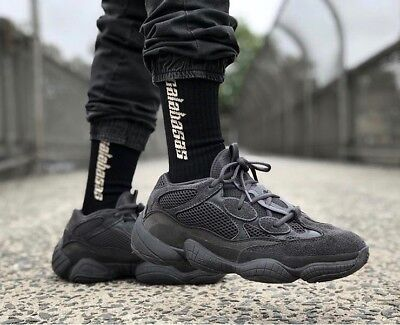 a640a206f ADIDAS YEEZY BOOST 500 Utility Black 10.5 Authenticity Guaranteed ...