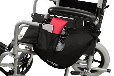 Wheelchair side bag, universal zip Pocket by My Buggy Buddy, New Various colours