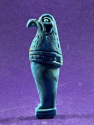 Very Beautiful Circa 715-332Bc Ancient Egyptian Horus God Amulet