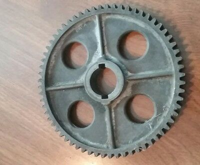"Atlas Craftsman 10"" 12"" Metal Lathe 64 Tooth Threading Change Gear"