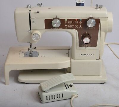 Vintage New Home Model 641 Sewing Machine