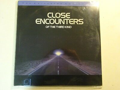CLOSE ENCOUNTERS OF THE THIRD KIND Laserdisc Movie Criterion Collection