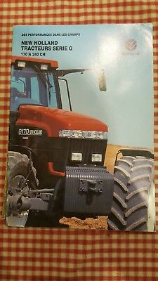 Brochure tracteur   New Holland