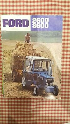 Brochure tracteur  Ford