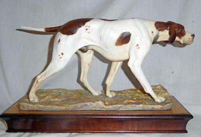 Albany Fine China Pointer Dog Figurine MINT by Neil Campbell