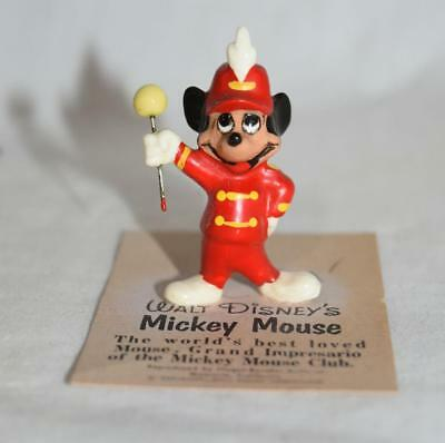 Hagen Renaker Disney Miniature Mickey Mouse Figurine on Original Card