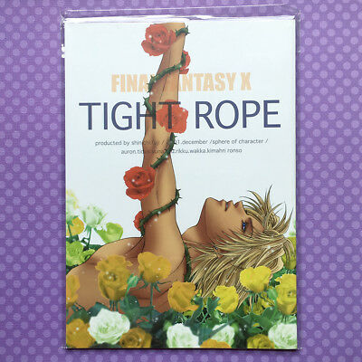 "Used YAOI Doujinshi: Final Fantasy X 10 FFX ""TIGHT ROPE"" Auron x Tidus JAPAN"