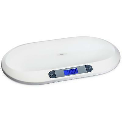 Smart Weigh Baby Scales, Tare and Weigh Digital Scale with Large Backlit LCD