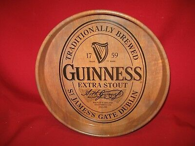 Guinness Extra Stout Metal Beer Tray