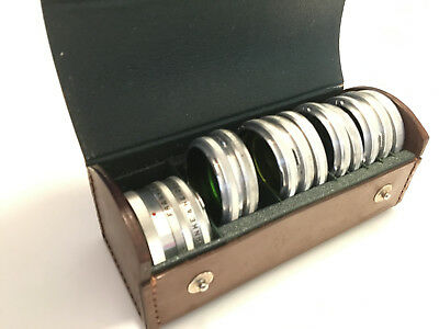 Rollei Franke Heidecke Filters & Lens Set + Leather Case - Very good condition