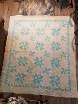 Amish Mennonite QUILT Antique OLD ORDER Kalona, Iowa