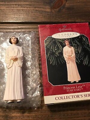 Hallmark Keepsake Ornament Star Wars Princess Leia Collector's Series 1998