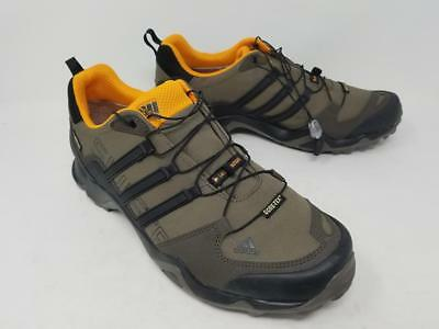 e40bd4a9b ADIDAS MEN S TERREX Swift R2 GORE-TEX Hiking Shoe Black Black Black ...