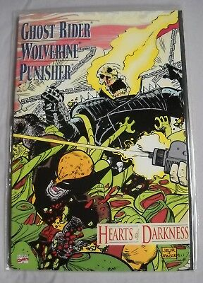 Hearts of Darkness Ghost Rider Wolverine Punisher Graphic Novel Marvel 1991