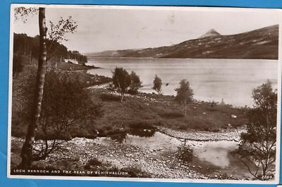 """Loch Rannoch and the Peak of Schiehallion — used (1948) """"Best of All"""" RP PC"""