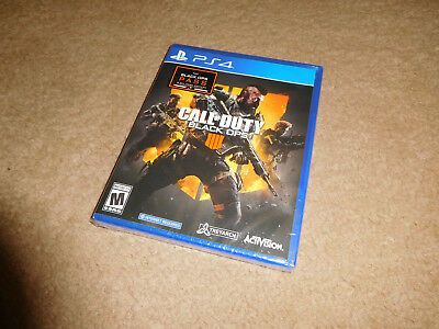 Call of Duty Black Ops 4 Sony Playstation 4 PS4 Game BRAND NEW FACTORY SEALED!
