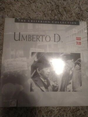 Umberto D   criterion collection sealed new   laserdisc