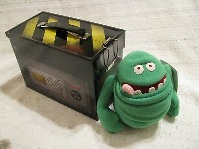 GHOSTBUSTERS (1984) Ghost Trap Lunchbox with FREE Slimer Plush NEW! EXCLUSIVE!