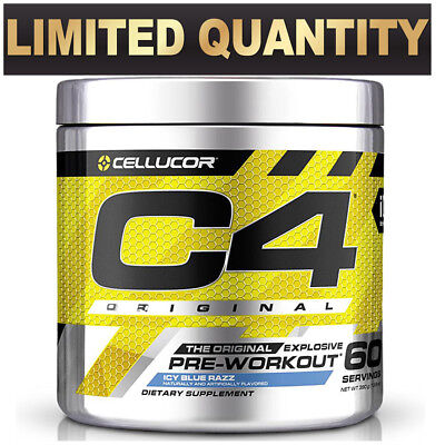 Cellucor C4 Id 60 Serves Serve Pre Workout C4 Original Energy Creatine
