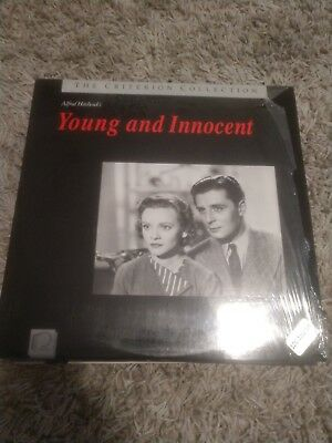 Young and innocent.   criterion collection    laserdisc