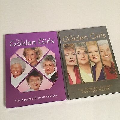 The Golden Girls Complete 6-7 DVD Box Sets New and Sealed