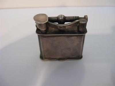 Antique Mexican Silver Lift Arm Lighter (Very Nice)