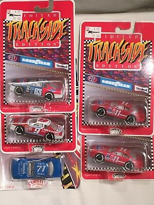 Lot of 5 MIXED NASCAR DIE CASTS 1:64