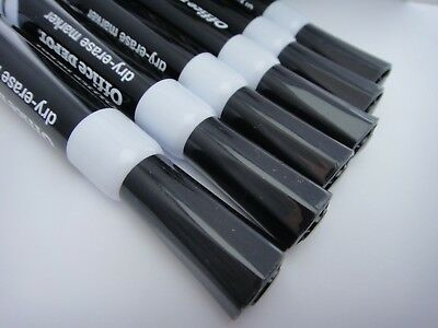 BACK IN STOCK! BLACK OFFICE Depot DRY ERASE MARKER - NOS MARKERS / BUY 1 or More