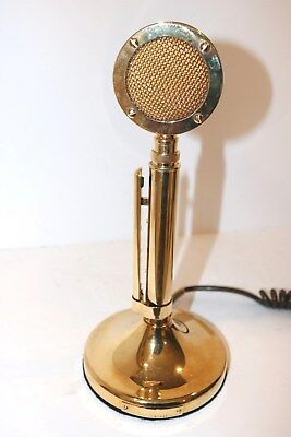 Collectible  ASTATIC GOLDEN EAGLE  D-104 Microphone mike