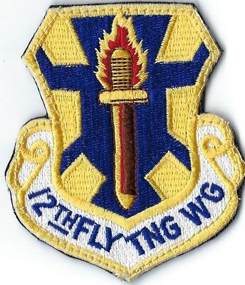 USAF 12th FLYING TRAINING WING PATCH