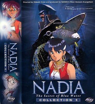 Nadia: The Secret of Blue Water: 11 dvds + 2 cds : Collection 1 and 2 - anime