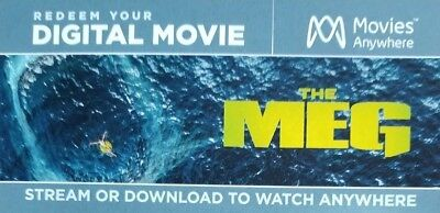 The MEG (2018) HD Digital Code from bluray Movies Anywhere