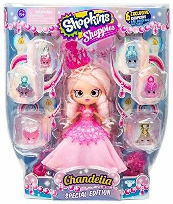 Shopkins Shoppies Season 7 Special Edition Chandelia Pink collectible Toy Doll