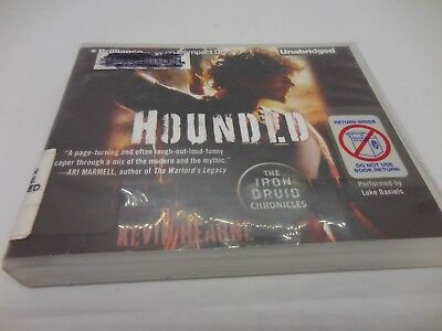 HOUNDED Kevin Hearne IRON DRUID CHRONICLES CD UNABRIDGED AUDIOBOOK URBAN FANTASY