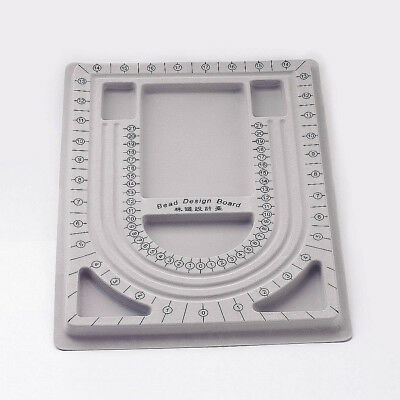 10pcs Small Wholesale Gray Plastic Flocked Beading Board Design Tray 33x24cm