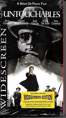 The Untouchables ~ Kevin Costner ~ Sean Connery ~ (VHS 1998) ~ New Sealed!