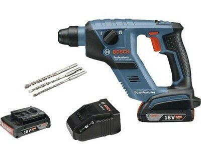 Bosch GBH 18 V-LI Compact Pro cordless rotary hammer 2x2ah batterie+charger+case
