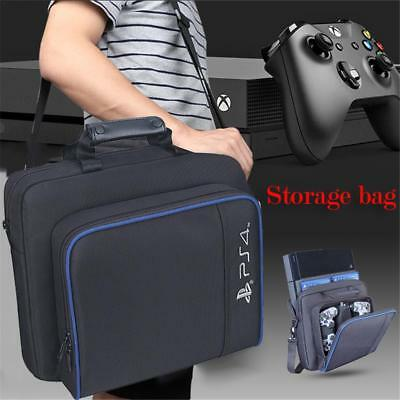 For PS4 SLIM Travel Console Storage Bags Protecive Backpack Games Bag Suitable